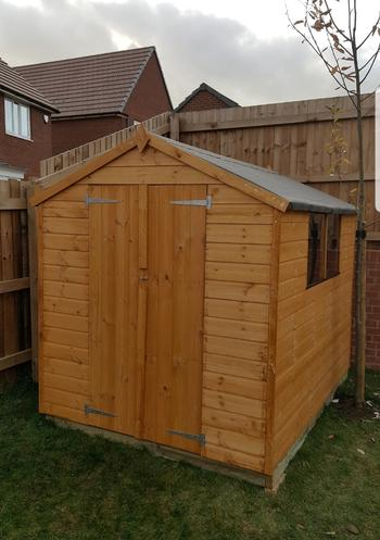 Building a shed after