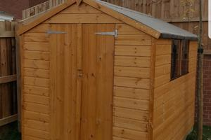 Building a Shed | Brixworth, Northamptonshire